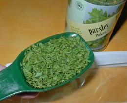 Ingredients - 1 tablespoon of Parsley flakes