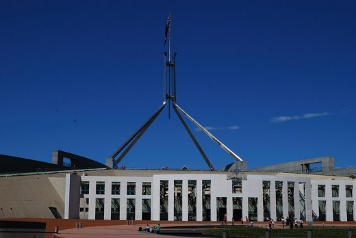 Parliament House, ACT, Australia