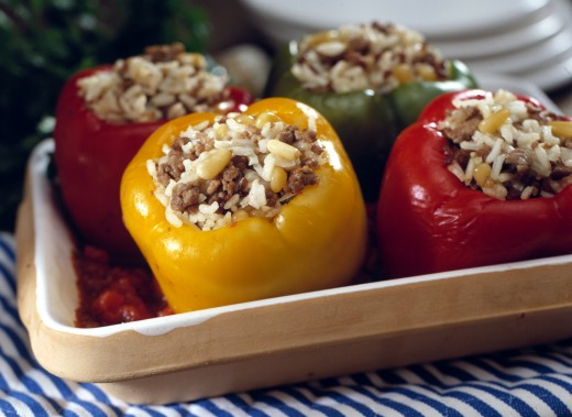 Here on this page you will find some delicious recipes for stuffed peppers. If you love stuffed peppers you'll love these recipes. Use various colored peppers for a beautiful presentation.