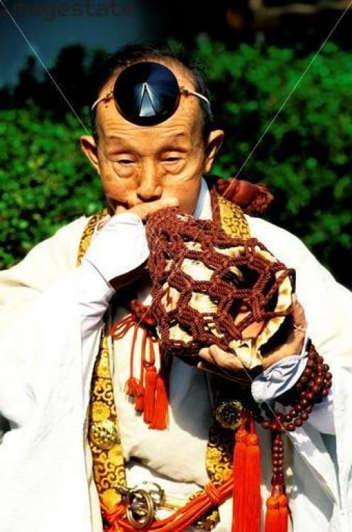 Yamabushi Monk. Beware! May be a Ninja.