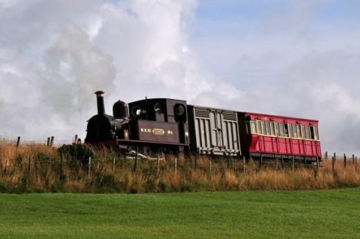Typical Manx Northern Railway train -  David Lloyd-Jones 2010