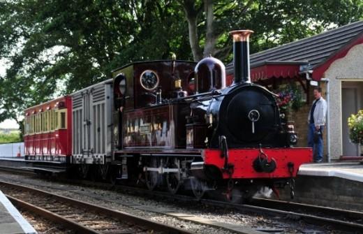 Ex-Manx Northern Railway locomotive 'Caledonia' -  David Lloyd-Jones 2010