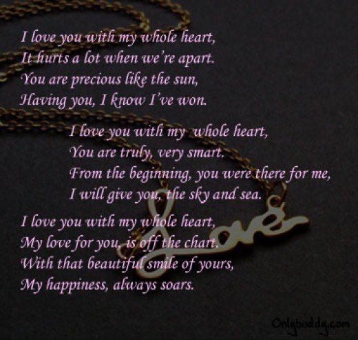 I Love You Baby Poems ...