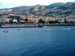 View from Veranda on Transatlantic Cruise