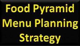 Food Pyramid Menu Planning Strategy