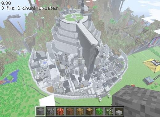 Minecraft a creative wonderland