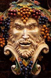 Greek god Ouranos (Sky). Roman name: Uranus