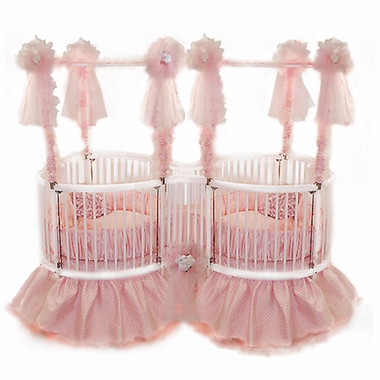 The Baby Dear Heart Twin Shaped Crib by Little Miss Liberty. A fabulous crib with a hefty pricetag: starting at $2,100.00 online.