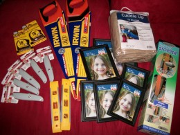 Some of the items we've recently gotten for free at Menards