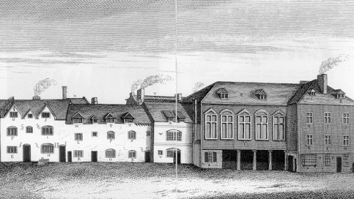 An Old Debtor's Prison in England