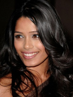 Indian actresses such as Freida Pinto are excellent examples of dark haired beauty.