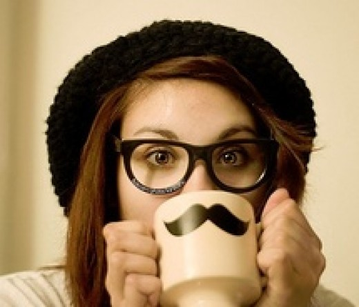 Exhibit A of a hipster's definitive moustache fetish.