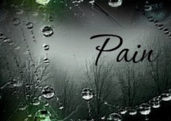 Pain reminds me that I can still feel