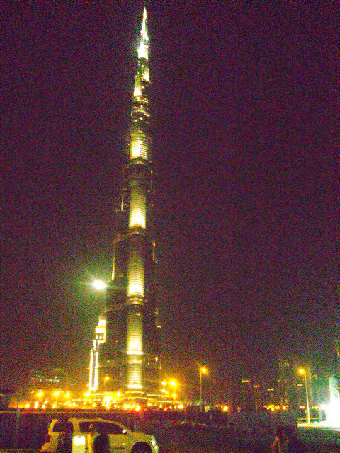 Burj Khalifa or Burj Dubai - World's tallest tower
