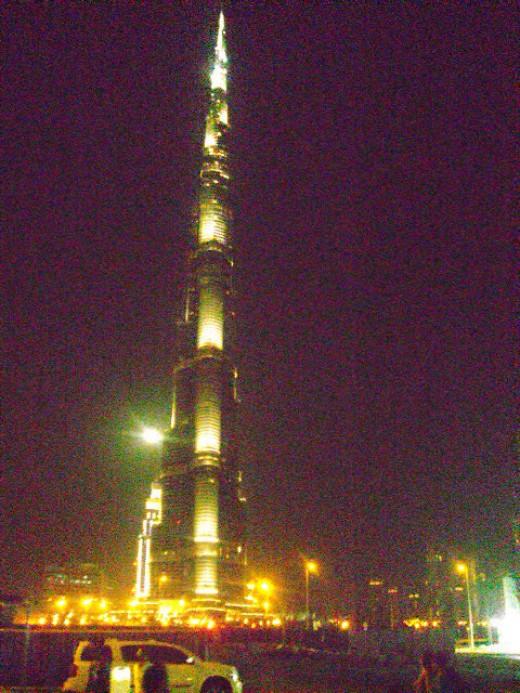 Burj Khalifa or Burj Dubai - World's tallest tower