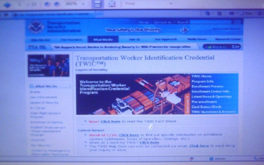 US-TSA official website (Photo taken by: thesailor)