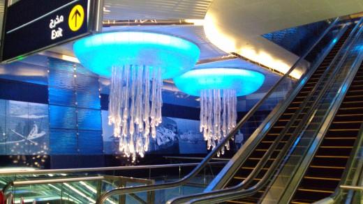 Most modern and useful dubai metro station