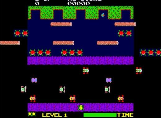 Frogger is a classic title from 1981