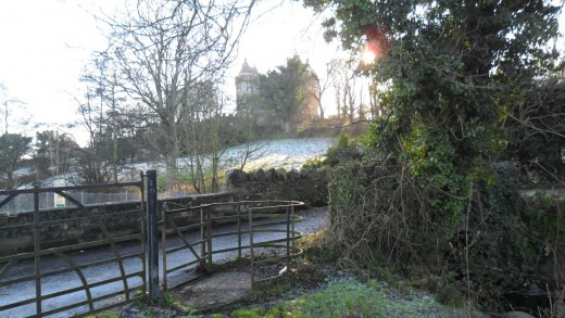 Mary's Stile/ Kissing gate under the shadow of Killyleagh Castle