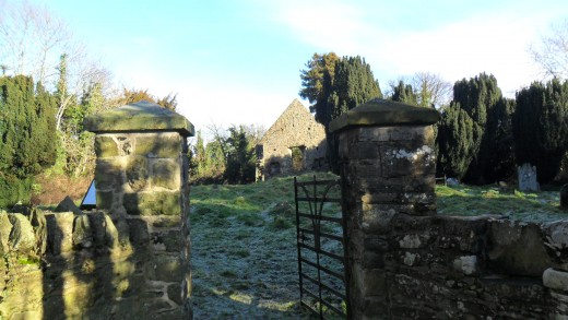 Entrance to Killowen Church