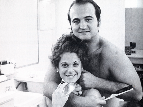 John and other SNL great, Gilda Radner.