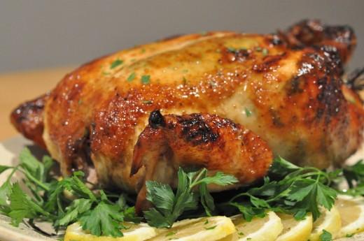 How To Make Garlic Roasted Chicken