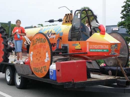 Naples Florida Swamp Buggy Parade