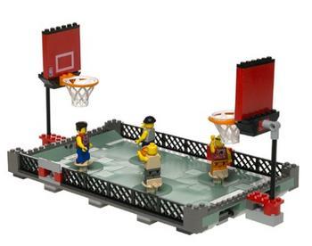 Lego NBA Street Ball 2 vs 2