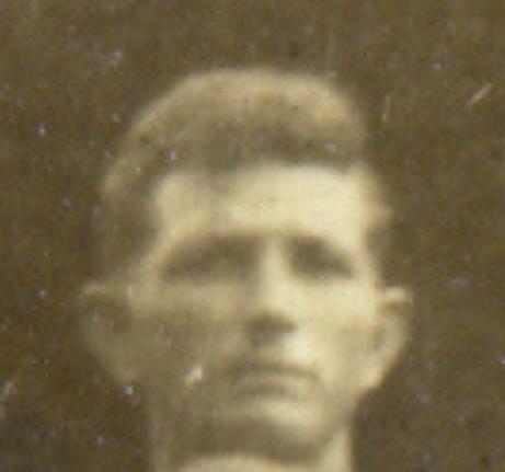 Vernon Powell Barron (#7 3rd & 4th row) October 11, 1896-January 24, 1976