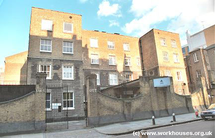 The Strand Union Workhouse, Cleveland St, London