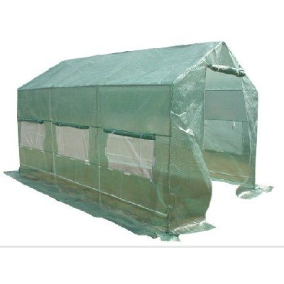 Quictent 12'x7'x7' Portable Backyard Large Greenhouse Green Garden Hot House New
