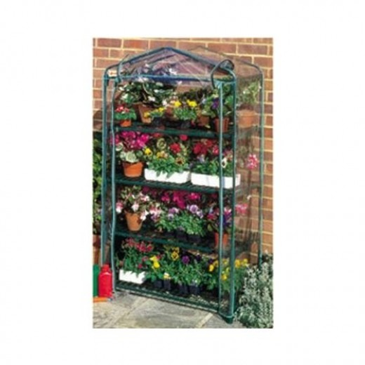 NEPTUNE 4-Tier Mini Portable GREENHOUSE Green Grow Hot House