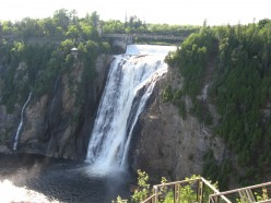 The Montmorency Falls