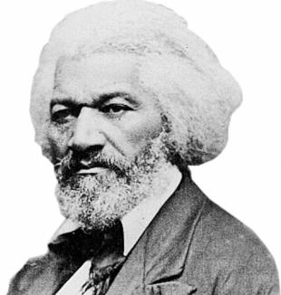 Frederick Douglass.  I admire him completely.