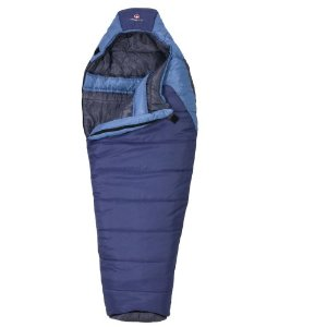 11-Swiss Gear Salzburg 10-Degree Mummy Sleeping Bag (Royal-Light Blue)