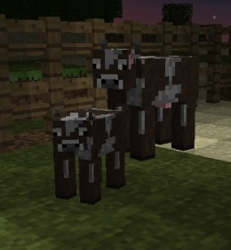 Also, baby Minecraft animals!