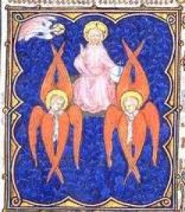 The image of what angels look like according to the prophet Isaiah.