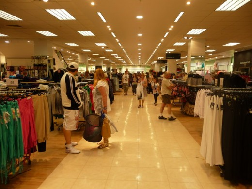 Wait for the big sales and the turn of the clothing seasons