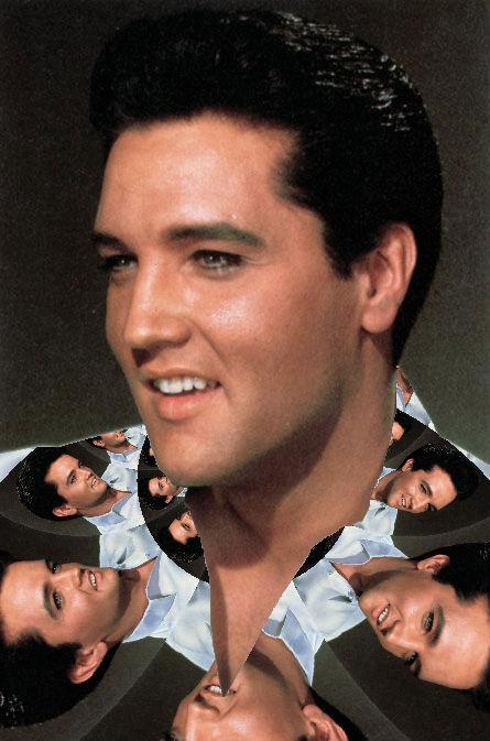 Young Elvis Kaleidoscope shirt  Digi-Works 2011