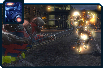 DC Universe Online Powers - Gadgets Power