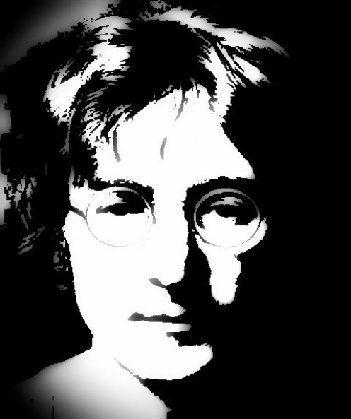 John Lennon (Black & White) Digi-Works 2011