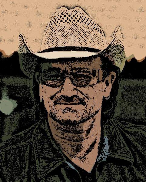 Bono cartoon  Digi-Works 2011