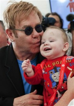 Do you believe there is there any significance to Sir Elton John's son being born on Christmas Day?