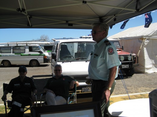 Ambulance Volunteers in Kalbarri WA