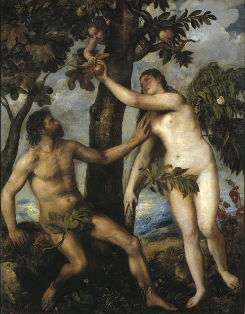 Adam and Eve by Titian. Wikimedia Commons - Publich Domain. http://en.wikipedia.org/wiki/File:Tizian_091.jpg