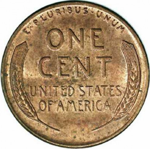 Lincoln Wheat Ear Penny, 1909 to 1958