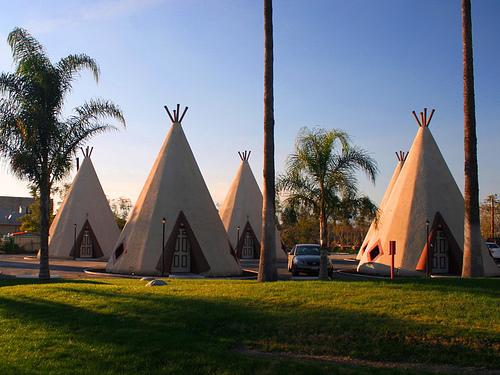 A Wigwam Village Motel
