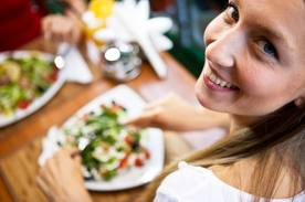 Dining in New York alone or with a company. A sweet smile.  A sumptuous. hearty yet healthy meal. What more can one ask for?