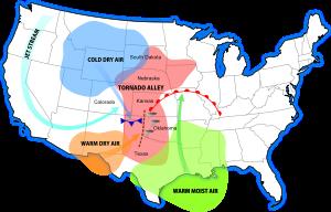 Developing Tornado Pathways