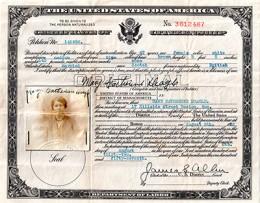 "One of Bob's ""crofter"" ancestors: Mary McKinnnon"